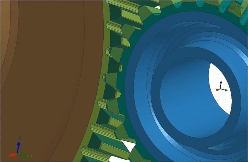解析事例 -ヘリカルギアモデル-