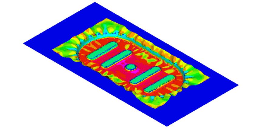 PAM-FORMにおけるThermal-Mechanics連成計算について
