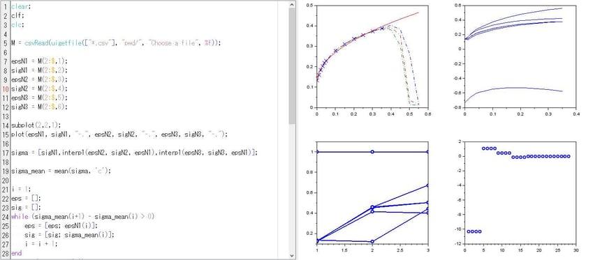 Scilab適用事例(1)