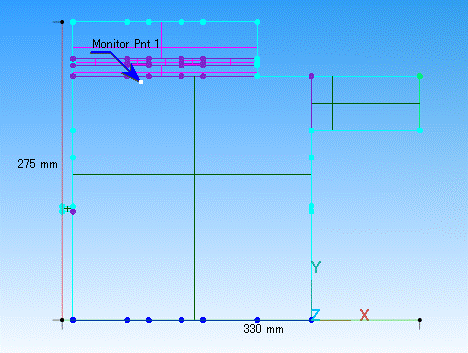 Fig. 7 モニターした position