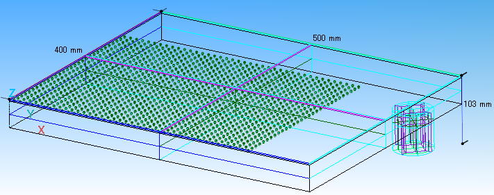 フィラメントモデルを利用したシャワーヘッドの三次元シミュレーション( Modeling of 3D showerhead using filament model)