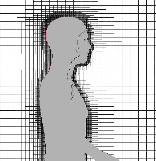 CFD-ACE+ を用いたエアロゾル粒子の軌跡シミュレーション