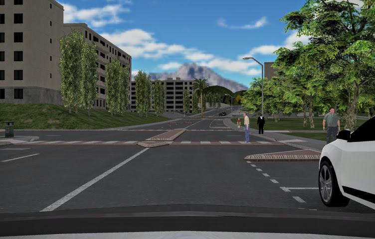 Pro-SiVIC 走行環境(infrastructure)モデル