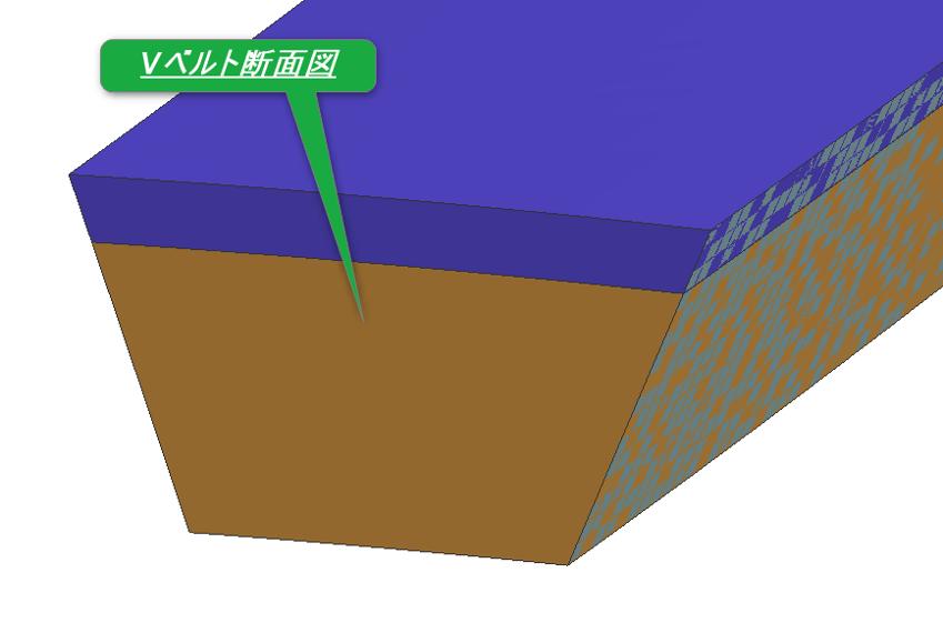 解析事例 -Vベルトモデル-