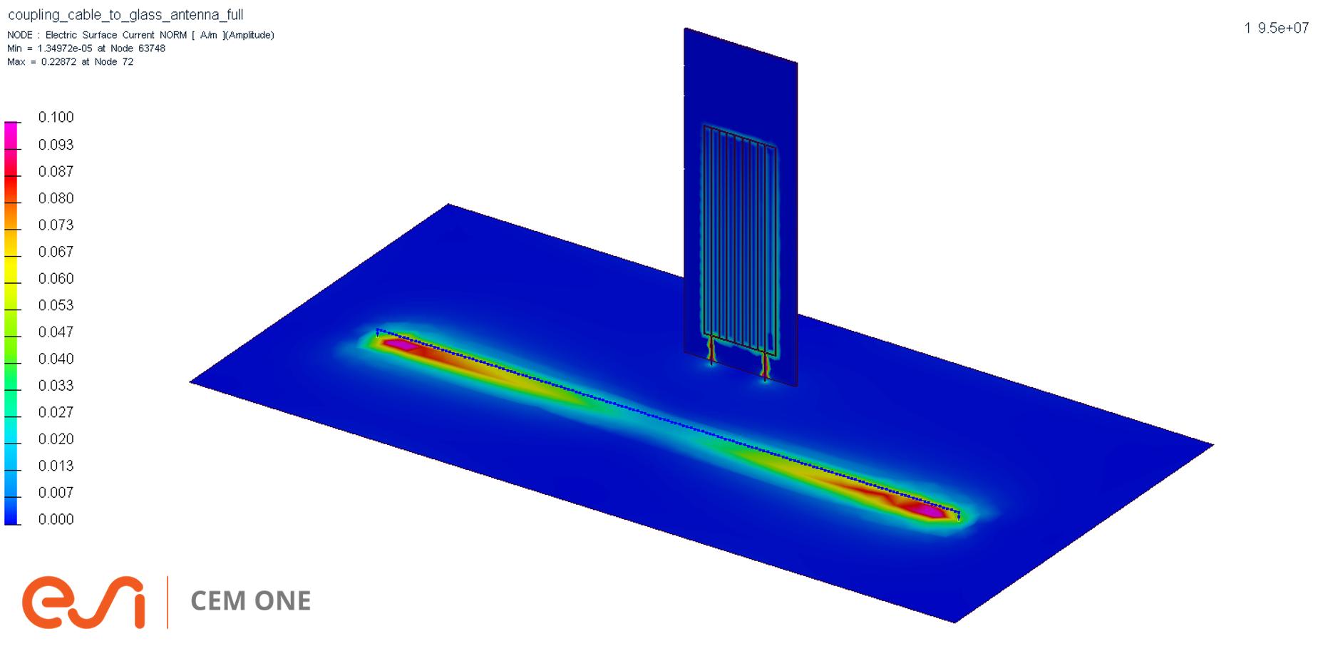 ガラスアンテナ簡易モデル化機能