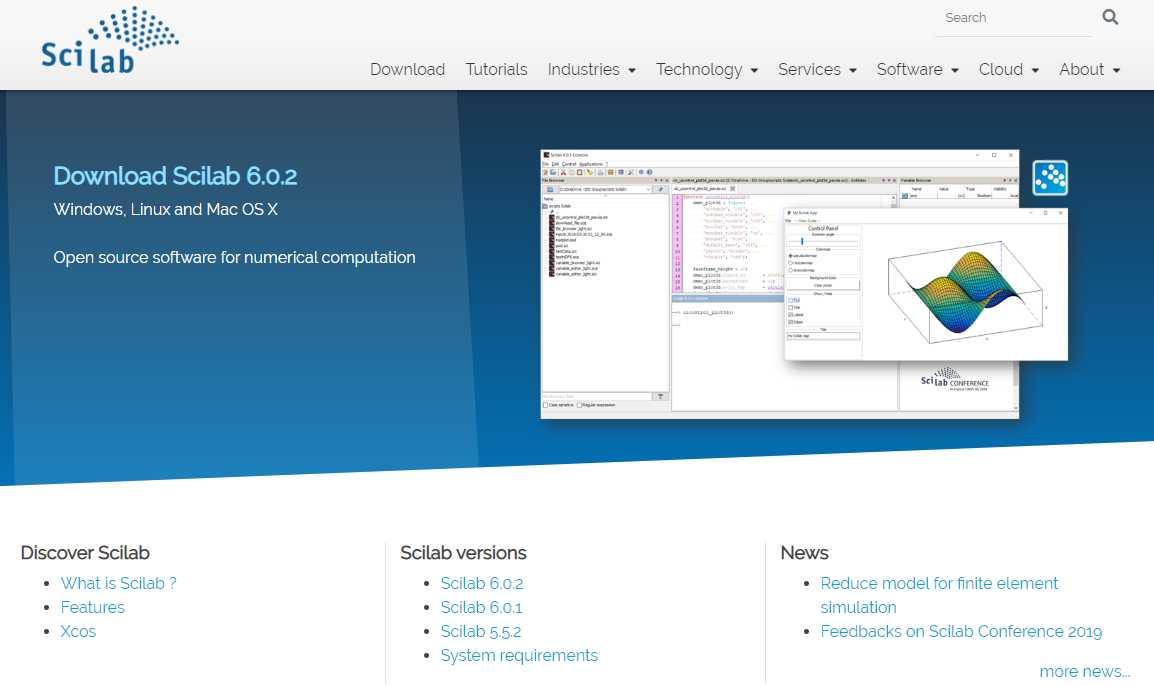 Scilab/Xcosのインストール