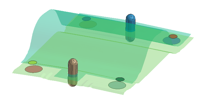 【Visual-Assembly】解析のコツ 自動車編 板隙を冶具で押さえ変形を予測する