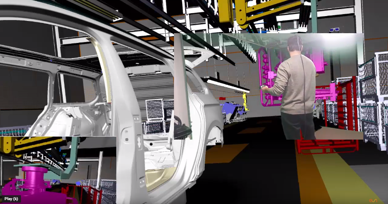 IC.IDOによる組付工程検証の動画紹介
