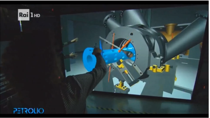 産業用VR:IC.IDOがイタリアの放送に紹介されました