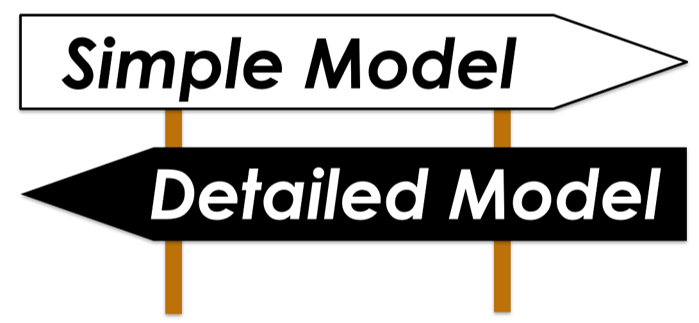 1Dシミュレーションの考え方 - モデルの簡略化